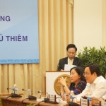 Mr. Le Vu Hoang, CII Chairman of BOD, spoke at the event