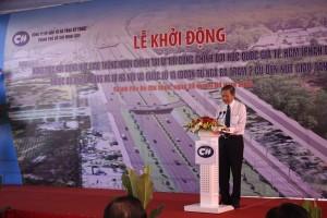 Ông Lê Văn Khoa, Phó CT UBND TP.HCM phát biểu tại đại hội