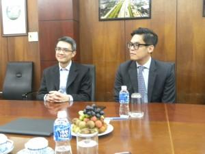 Đại diện Hongkong Land tại buổi ký kết