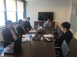 """Đại diện CII gặp mặt nhà đầu tư tại sự kiện """"Non deal Roadshow: Tiếp xúc các Quỹ đầu tư tại trụ sở quỹ"""""""