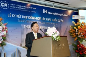 Mr Le Vu Hoang's speech in the event