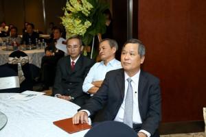 TGĐ CII Lê Quốc Bình đang lắng nghe quá trình phát triển CII Group