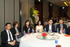 Hong kong Land representatives at the events