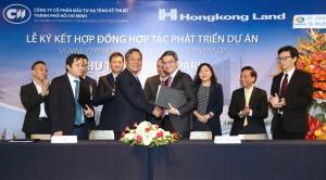 CII và Hongkong Land ký kết hợp đồng phát triển Thủ Thiêm River Park